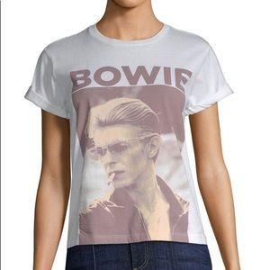 NEW! AOLA ALICE + OLIVIA David Bowie Tee XS/S